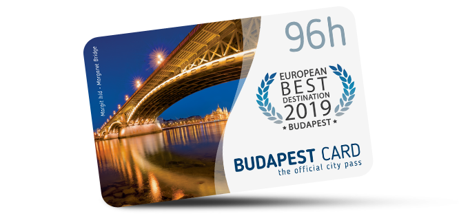 Budapest Card (96 hours)